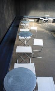 Serpentine Pavilion 2011 Furnishings