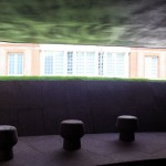 Serpentine Pavilion 2012 from inside looking back to the gallery