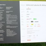 Serpentine Pavilion 2012 sign describing the project (2)