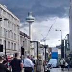 Clouds over Liverpool city centre 1