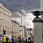 Clouds over Liverpool city centre 3