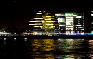 London City Hall from Tower at Night
