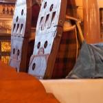 Grandmother Giant St George's Hall feet
