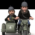 Panzerfaüste Khâllazdurin Motorbike and Sidecar