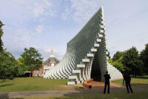 Serpentine Pavilion 2016 looking towards gallery