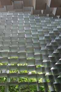 Serpentine Pavilion 2016 looking up