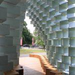 Serpentine Pavilion 2016 out through entrance