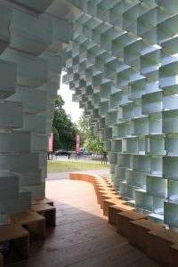 Serpentine Pavilion 2016 out through entrance