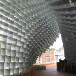 Serpentine Pavilion 2016 out towards gallery