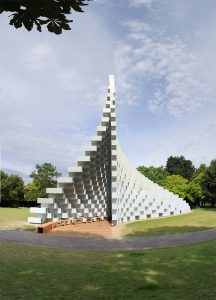 Serpentine Pavilion 2016 from the end