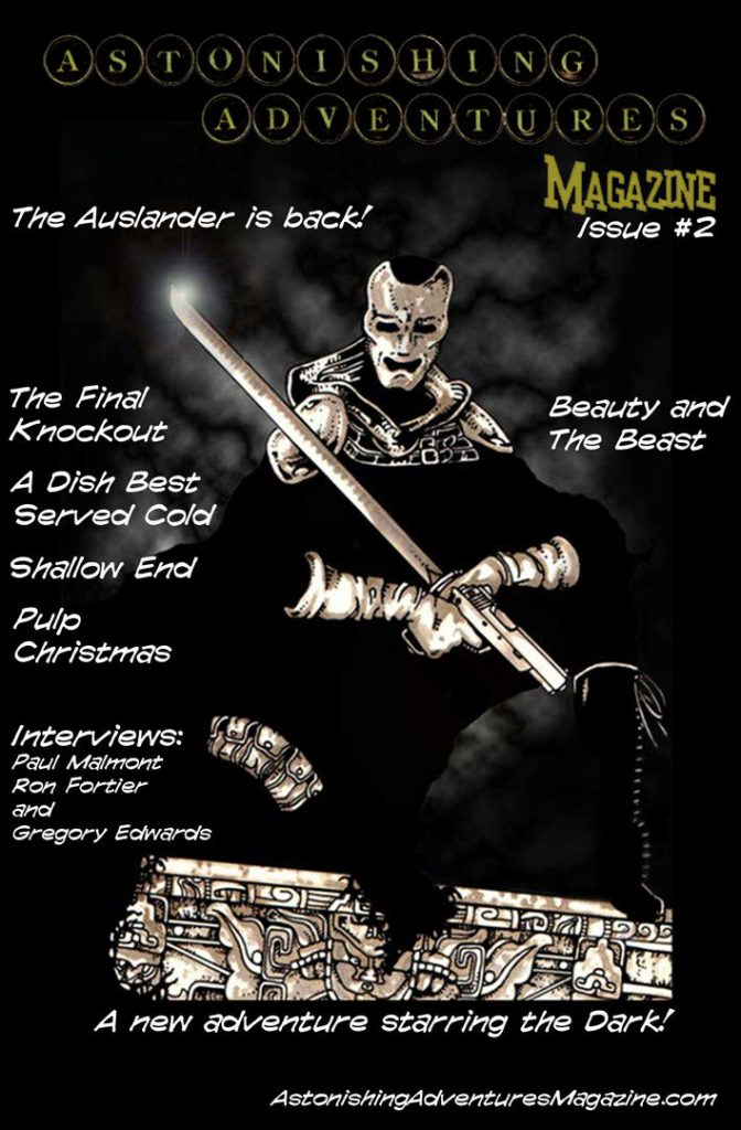 Astonishing Adventures Magazine Issue 2 Cover