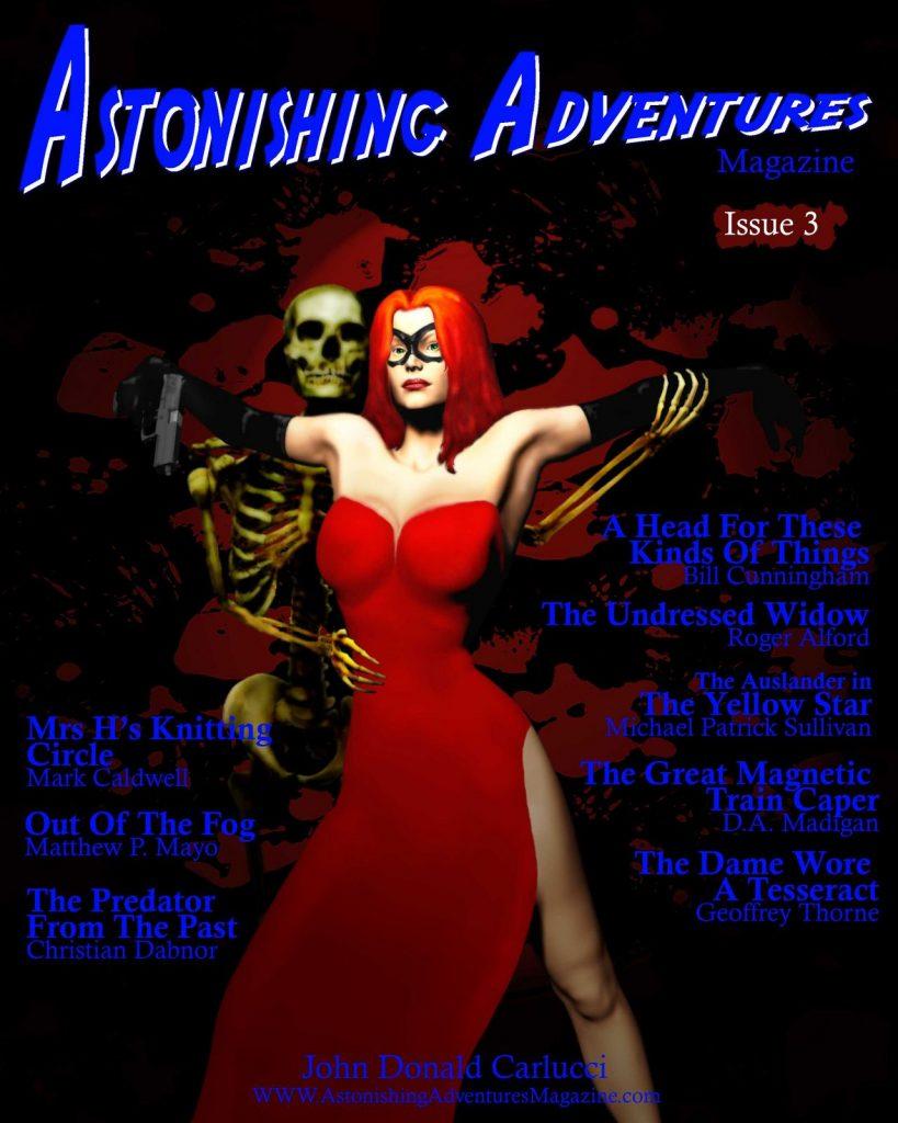 Astonishing Adventures Magazine Issue 3 Cover
