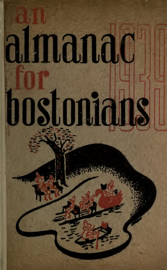 An almanack for Bostonians, 1939