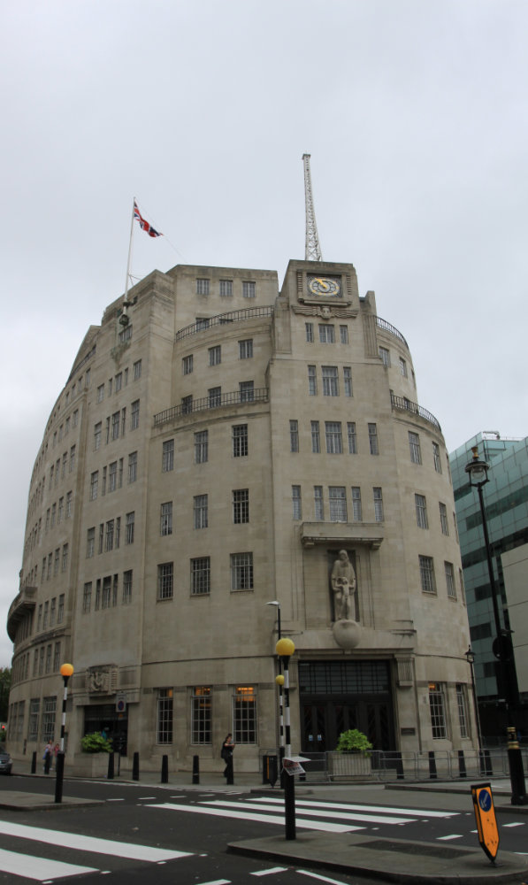 BBC Broadcasting House 2016