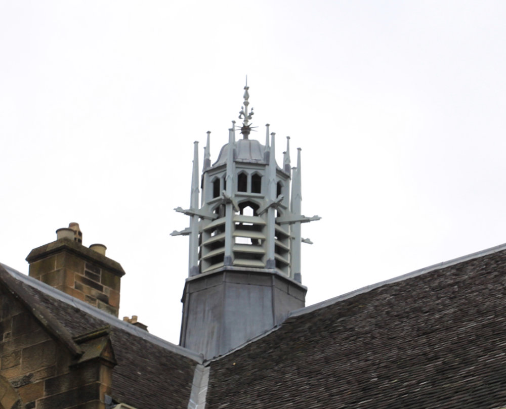 Roof detail Glasgow University 2017