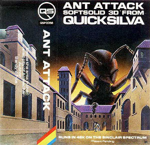 3D Ant Attack Cover Art